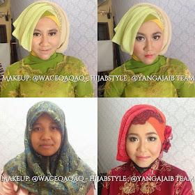 Ini Vindy Yang Ajaib: My Make Up Makeover and Hijabstyle