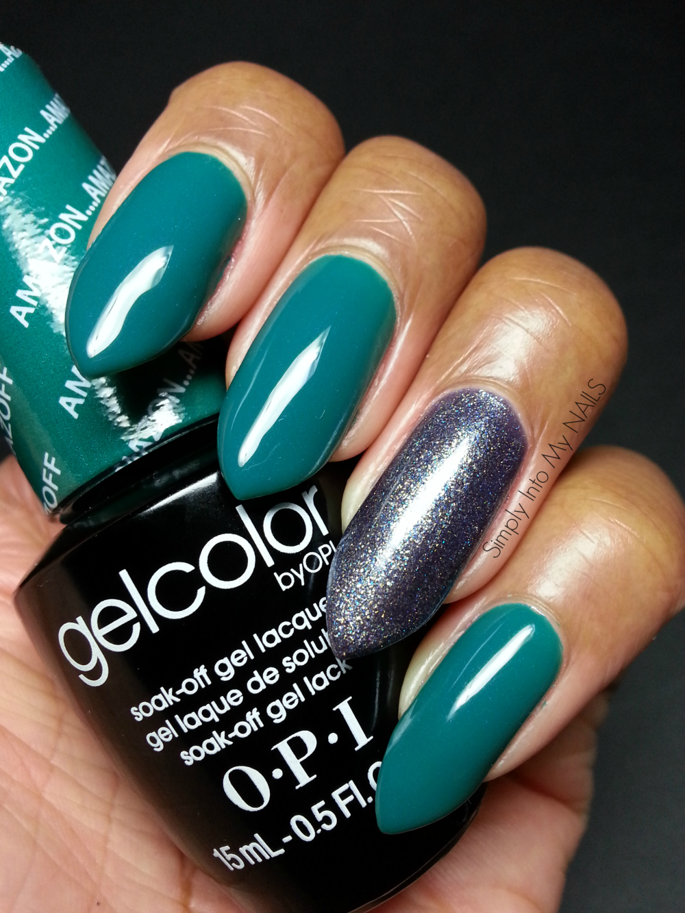 OPI Gelcolor Amazon...Amazoff | Simply Into My NAILS