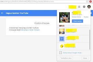 Cara menghapus channel youtube dengan mudah5