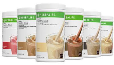 Sữa giảm cân Healthy Meal bữa ăn lành mạnh - Herablife F1 Shake