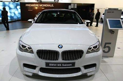 2012 BMW M5 Saloon Front
