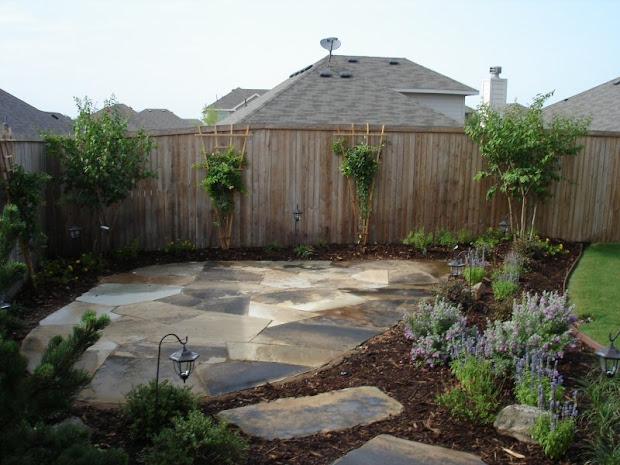 backyard landscaping ideas - garden