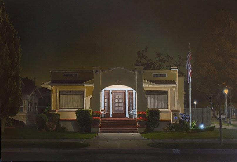 nuncalosabre.Night Scenes - Pinturas - Mark Hosmer