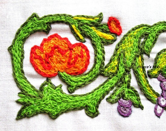 Royce s hub zalakdozi a chain stitch embroidery