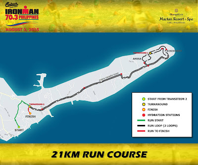 Ironman 70.3 Philippines Run Course