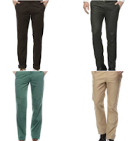 Fashionandyou.: Buy Chinos & Trousers At Flat 50% OFF + Extra 20% OFF + Extra 30% OFF {Through Mobikwik}