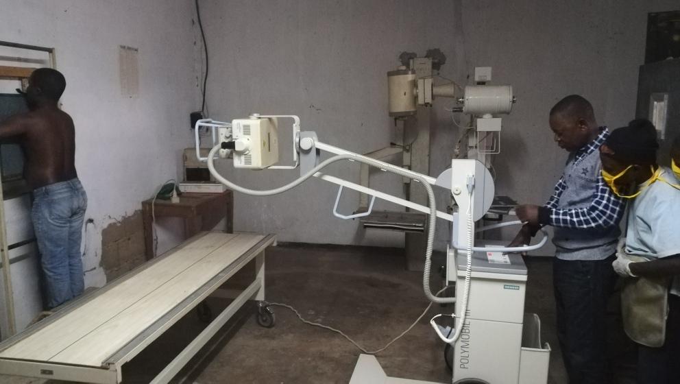 Nouvel appareil radiographique