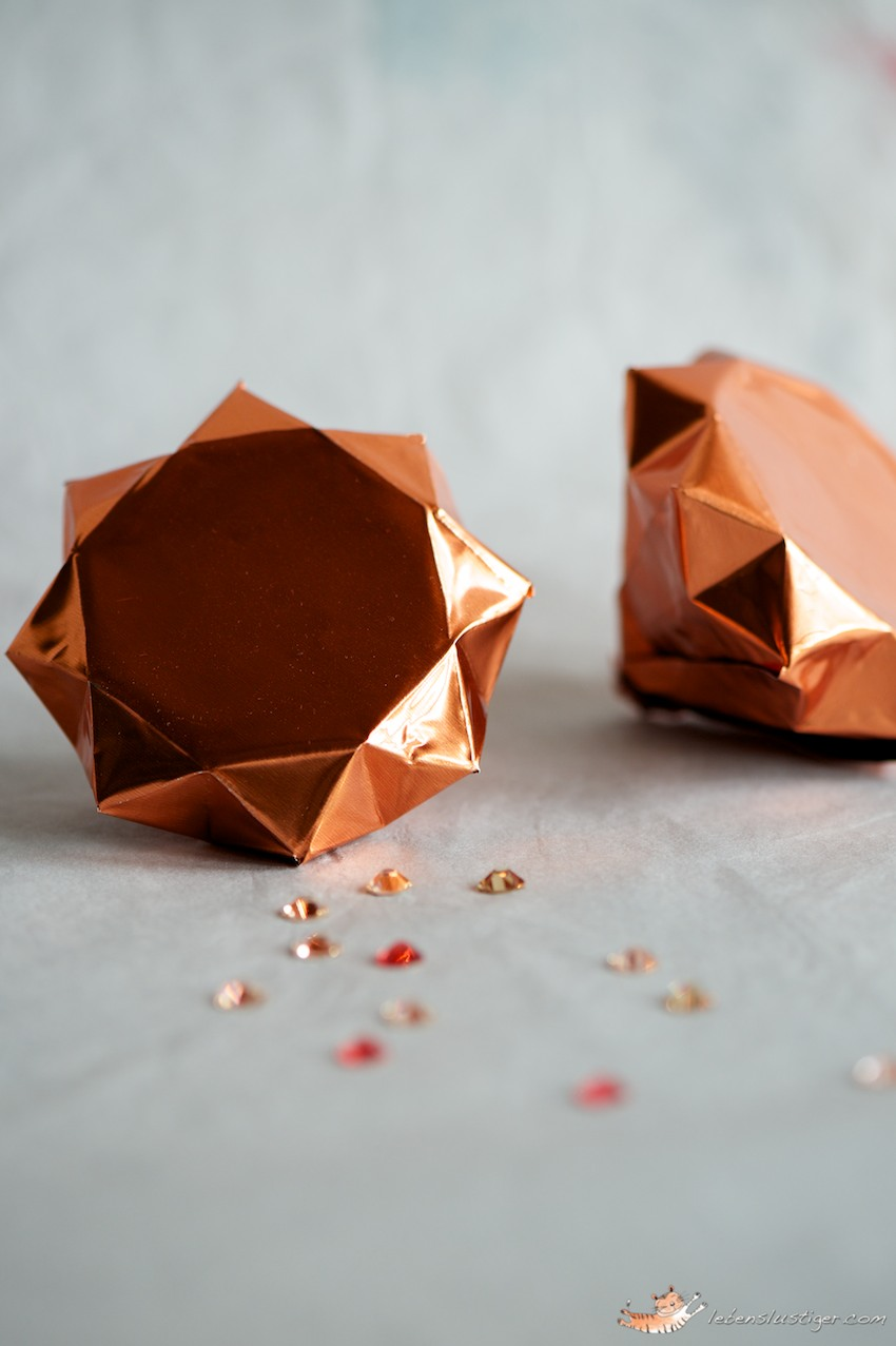 Paper Diamond Origami Template
