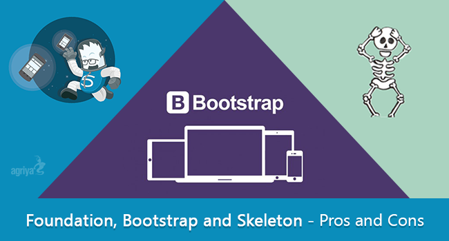 Foundation bootstrap and skeleton pros and cons for Basement pros and cons