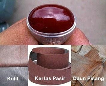 Bahan Alamiah Mengkilapkan Batu Cincin Akik - www.NetterKu.com : Menulis di Internet untuk saling berbagi Ilmu Pengetahuan!