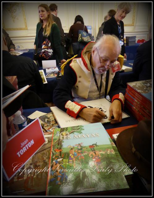 Jean Torton Jeronaton Histoire de Lire Versailles 2015