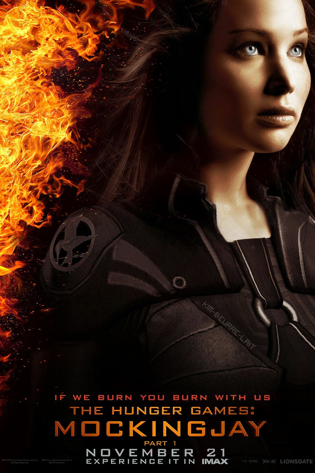 mockingjay large movie poster