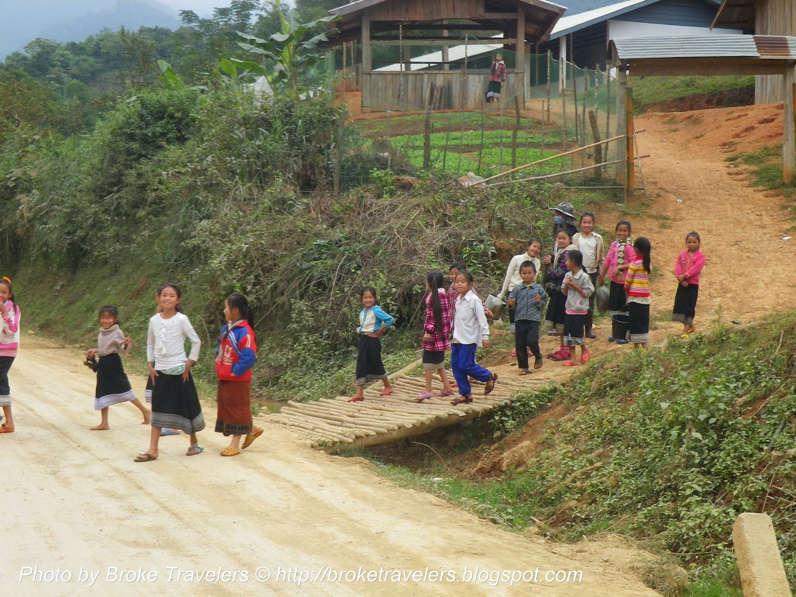 lao kids out of school