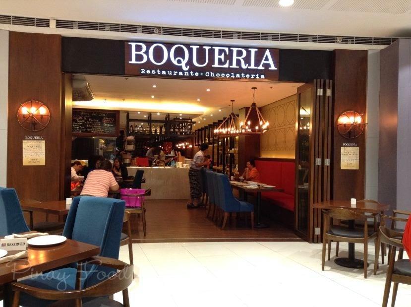 Front of Boqueria SM Megamall