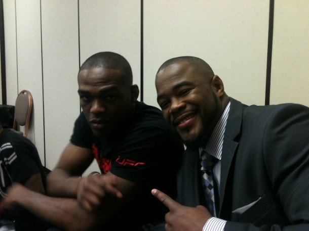 Rashad Evans Calls Jon Jones a Swagger Jacker and Evidence ...