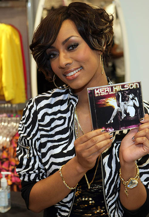 Keri Hilson Short Haircuts 3