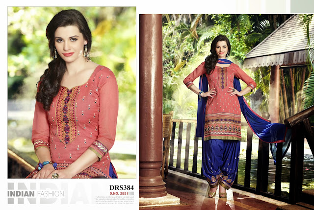 Purchase Banarasi Chanderi Cotton Dress Material