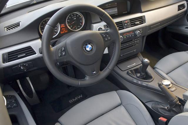 2008 BMW M3 Sedan Front Interior