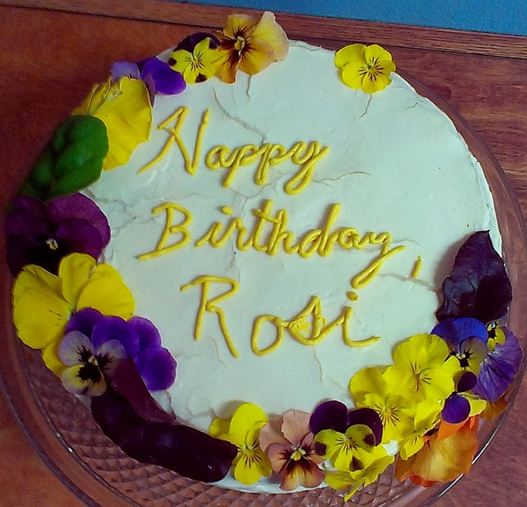 Rosi Places Great Importance On Eating All Natural Organic Chemical Free Food I Like That So I Tried My Best To Make A Cake That Adhered To That