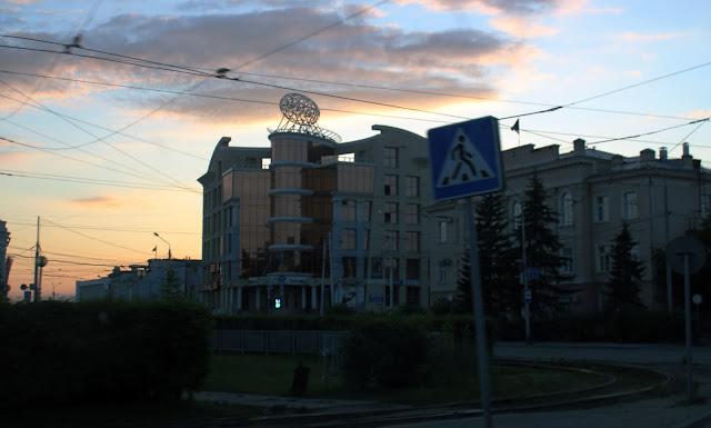 Томск, площадь Батенькова