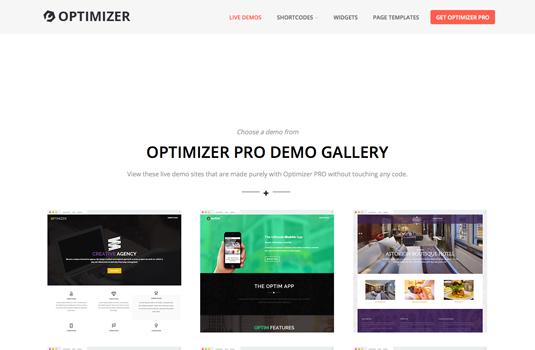 Optimizer wordpress theme