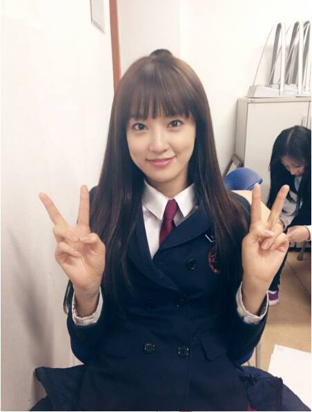 After School's Juyeon shares photos of her wearing school uniform on ...