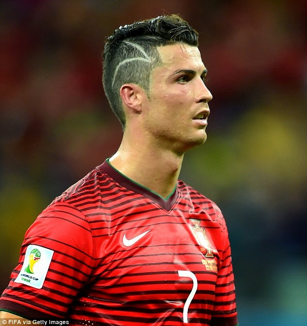 Cristiano Ronaldo Inspired Haircut Tutorial How To Style  - kapsels cristiano ronaldo
