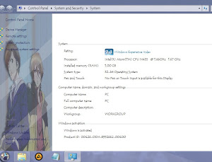 Yoshino to Mahiro – Windows 7 Theme 5