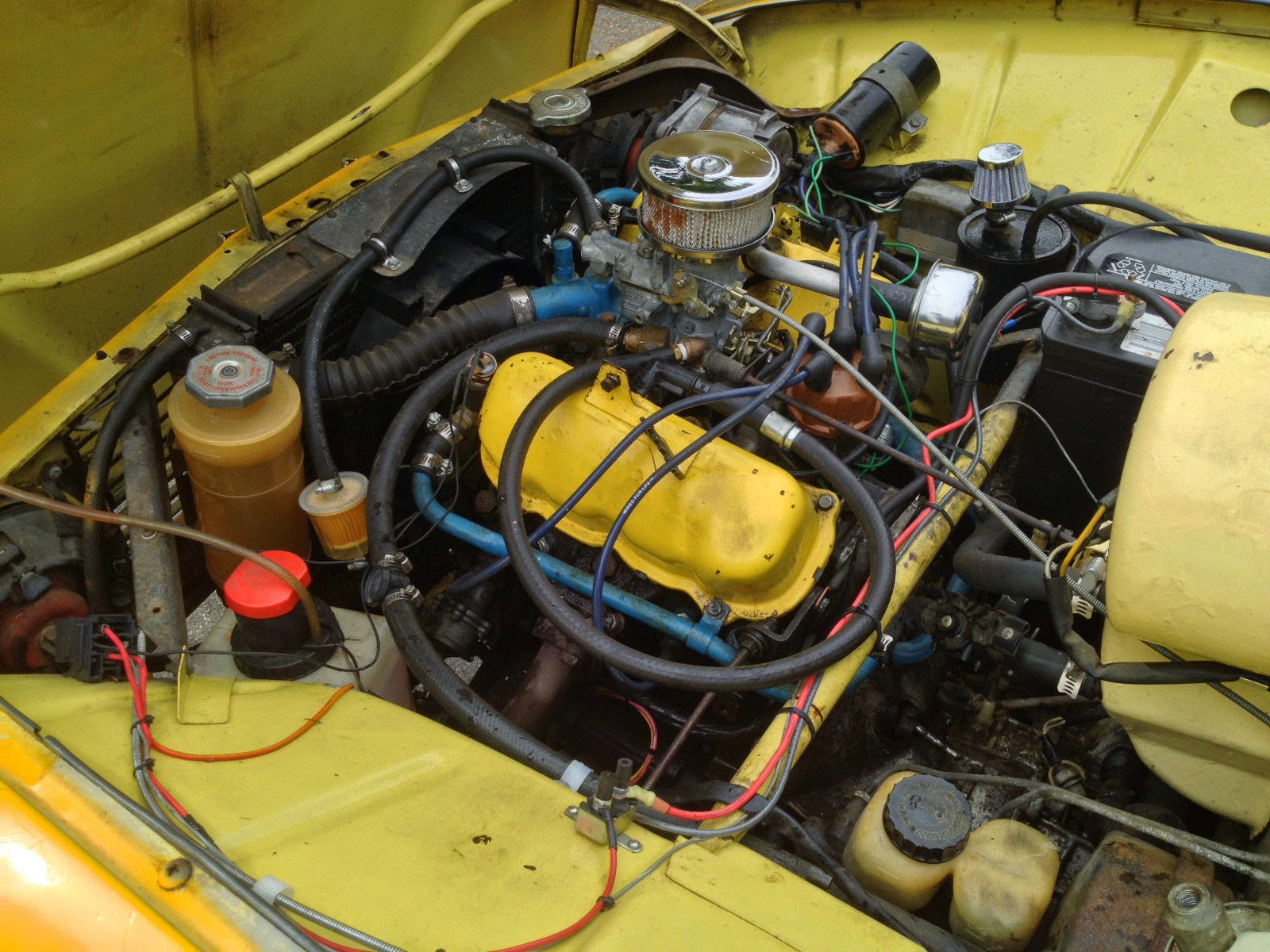 All Original 1973 SAAB 96 V4   Auto Restorationice