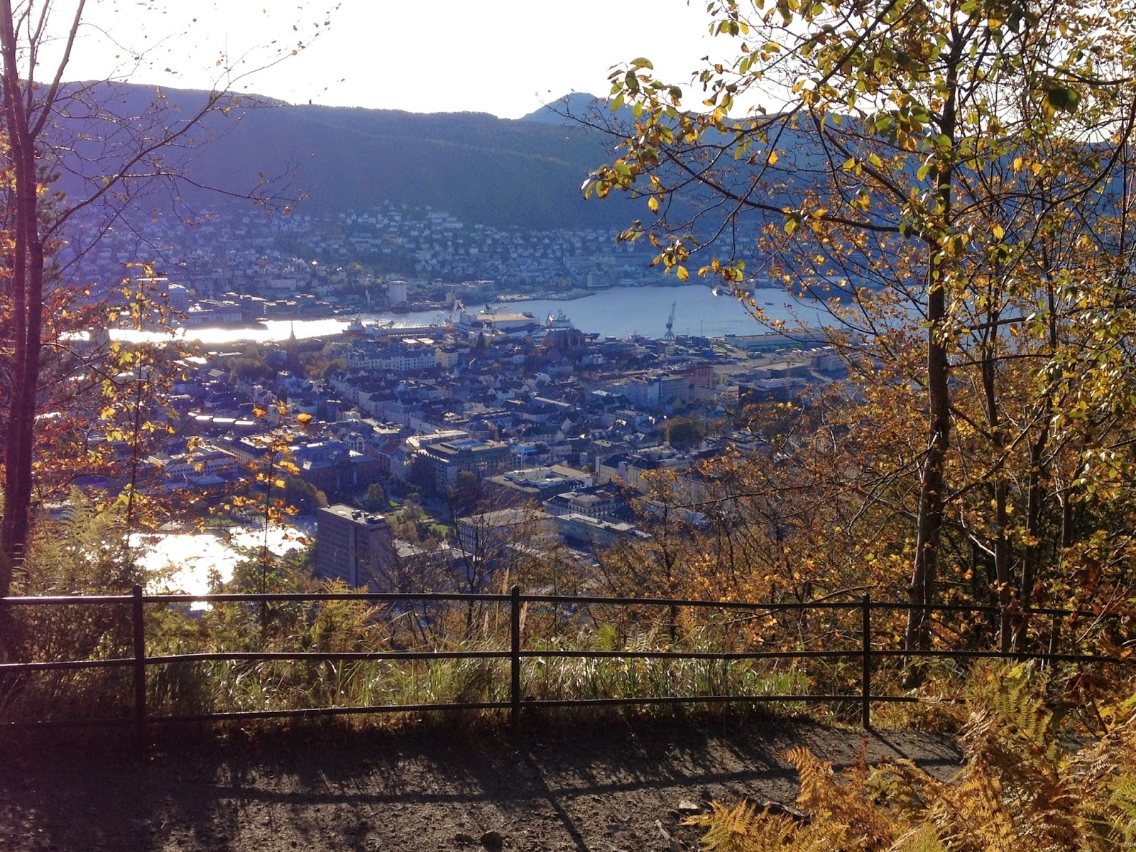 Bergen, Norway hiking