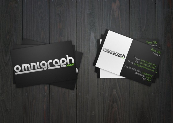 34) Business Card