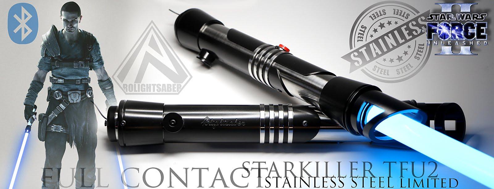 Starkiller TFU2 stainless steel Lightsaber