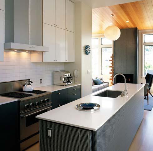 Inspiring Home Design Stainless Kitchen Interior Designs With Hardwood Floors