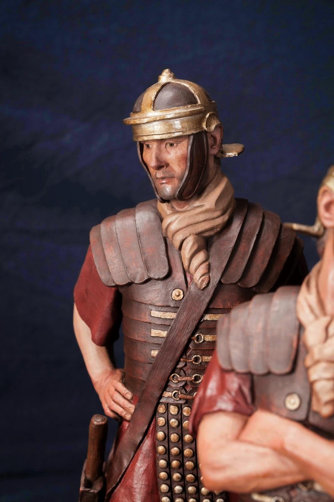 Belén presepe nativity krippe Arturo Serra escultura barro cocido 9