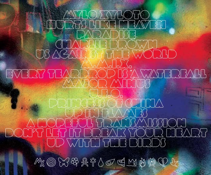 the tmj charts coldplays mylo xyloto album cover