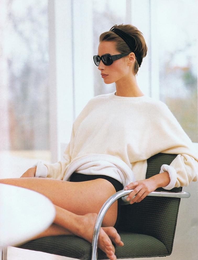 Christie Turlington photographed by Brigitte Lacombe, 90s