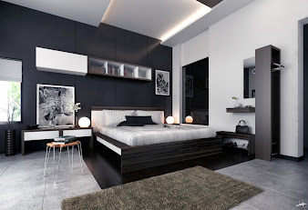 #3 Black Bedroom Design Ideas