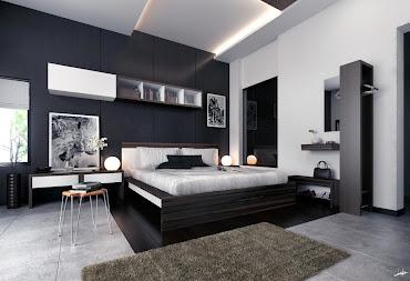 #3 Black Bedroom Design Ideas