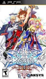 BlazBlue: Continuum Shift II PSP GAME