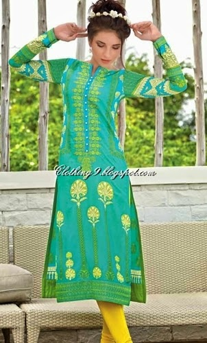 Gul Ahmed New Summer Lawn Collection 2015
