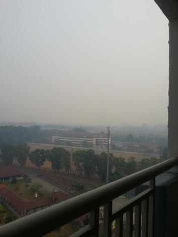 haze, air pollution, Malaysia, Petaling Jaya