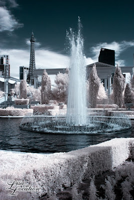 Las Vegas Nevada, Harrah's, Caesar's Palace, infrared, New Braunfels photographer