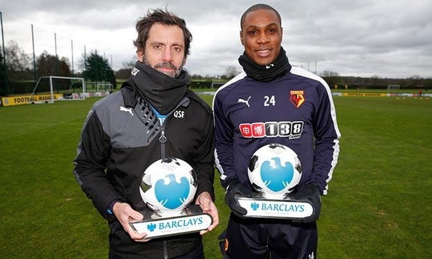 Super Eagles Striker Ighalo Wins EPL Player Of The Month