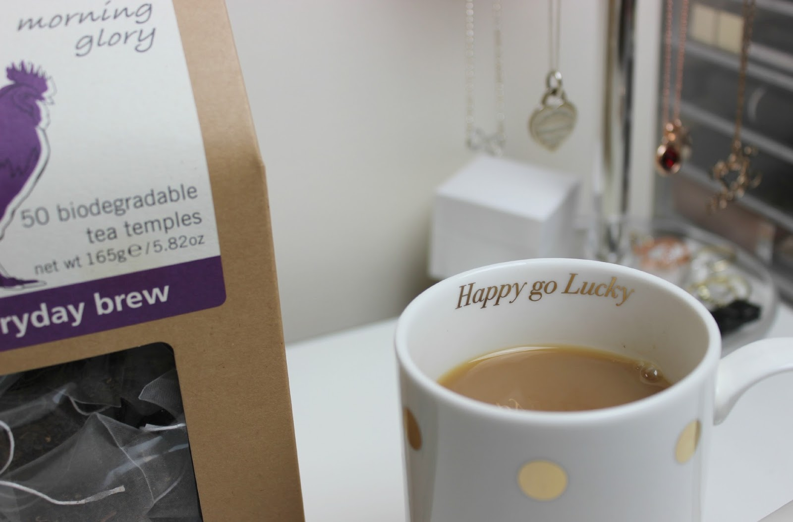 A picture of Teapigs Morning Glory Everyday Brew
