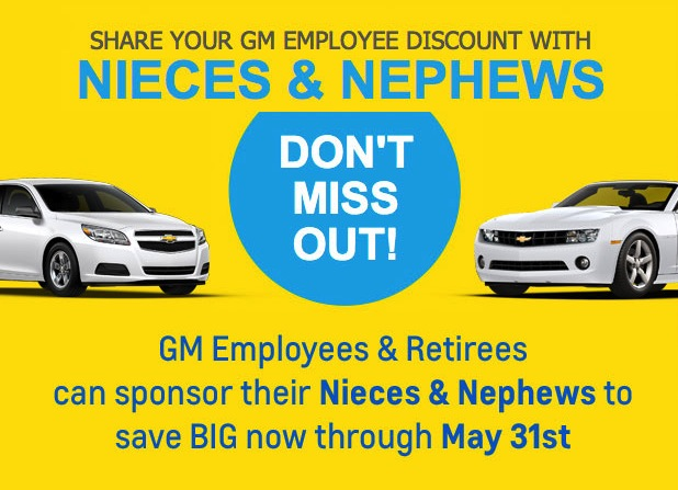Share Your GM Employee Discount