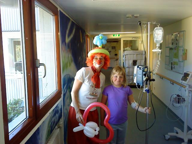 Freude bringen die Klinik-Clowns ins Eli...