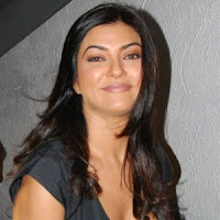 Sushmita sen hot cleavage show