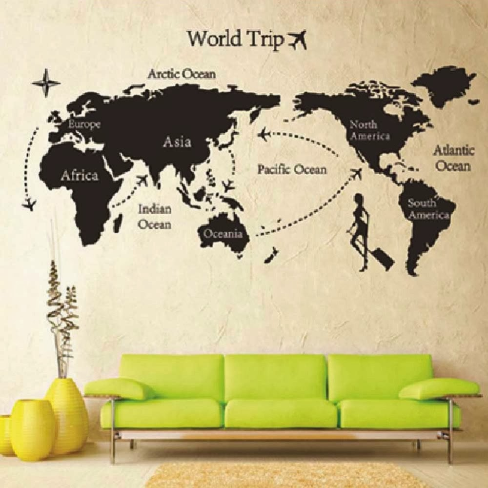 Removable Vinyl Wall Stickers Home Decal Wall by maxginez3