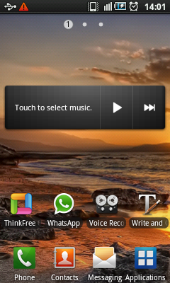 Android Music Widget