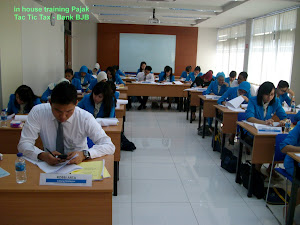 in house training Bank BJB